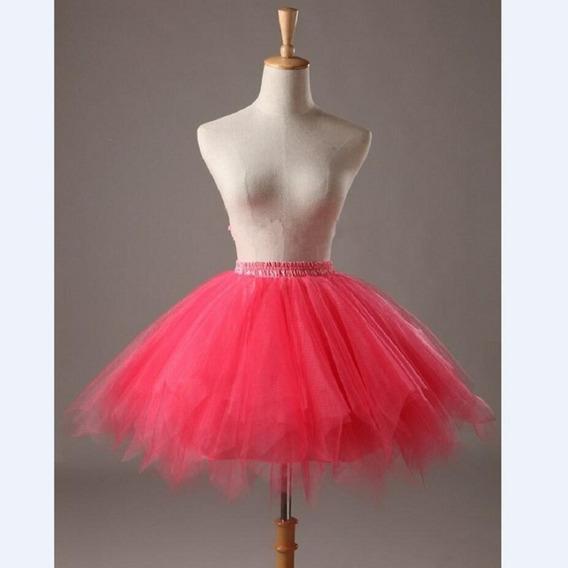 24 Colores Mujeres Caramelo Color Sólido Color Tutu Falda E