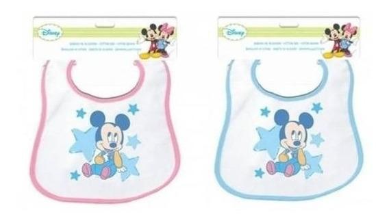 Babero Original Disney Babies Bebes Minnie Mouse Mickey