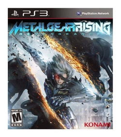 Metal Gear Rising Ps3 Playstation 3 - Midia Fisica Original