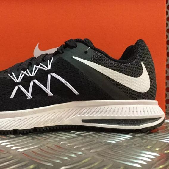 Tênis Nike Zoom Winflo 3 Masculino Preto Original