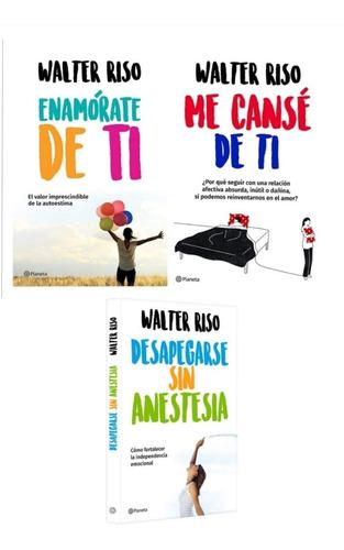 Me Canse De Ti + Enamorate De Ti + Desapegarse - Walter Riso