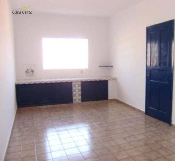 Casa Com 3 Dormitórios Para Alugar, 100 M² Por R$ 900/mês - Centro - Mogi Guaçu/sp - Ca1353