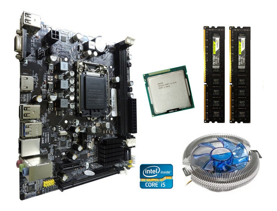 Kit Upgrade Core I5 + Placa Mãe 1155 + 8gb Ddr3 Frete Grátis