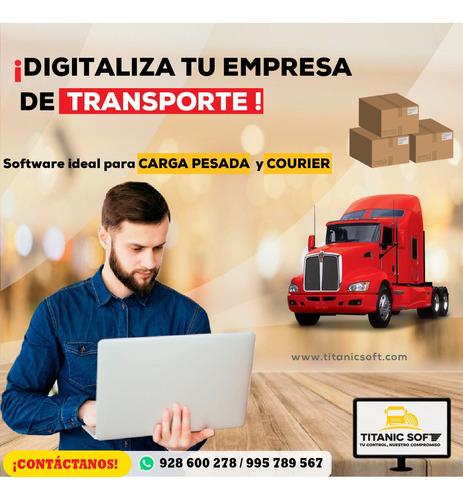 Software Para Empresas De Transporte De Carga