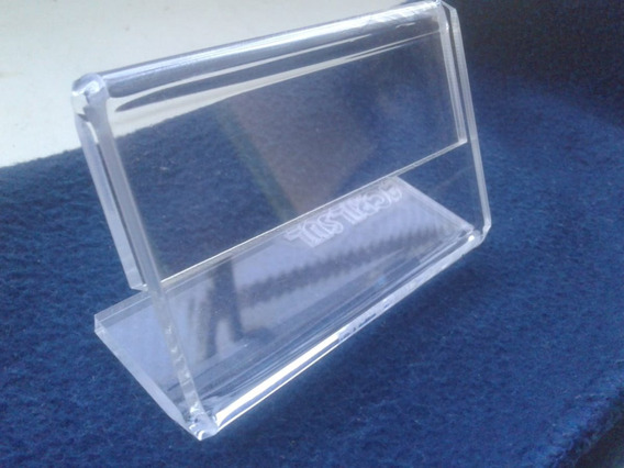 Display De Mesa 8,5 X8,5 Em Acrilico Kit 10und