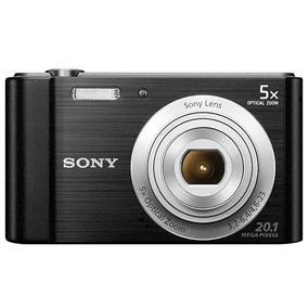 Câmera Sony Cybershot Dsc-w800 20.1mp ( 01 Ano De Garantia)