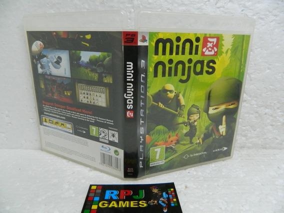Mini Ninjas Original Midia Fisica Completa P/ Ps3 - Loja Rj