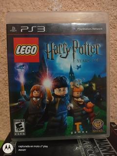 Lego Harry Potter 1-4 Años Para Ps3