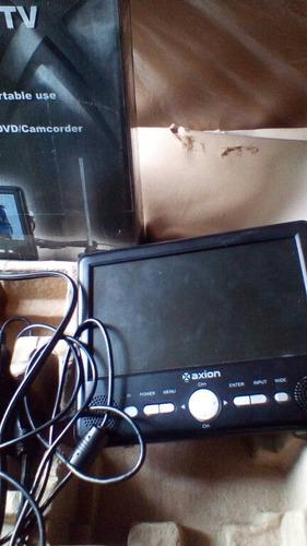 Televisor Portatil Marca Axion