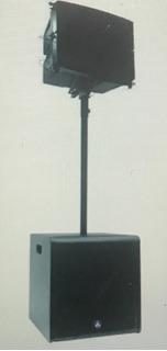 Promo X 2 Audiolab Edge 2512 Line Array Potenciado X Subwoof