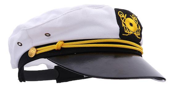 Boné Marinha Infantil Marinheiro Barco Capitão Yacht Skipper