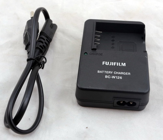 Carregador Bateria Original Câmera Fujifilm Bc-w126