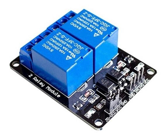Módulo Relé Rele 2 Canais 5v | Arduino, Pic, Raspberry Pi