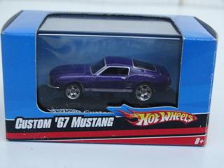 Hot Wheels Escala 1:87 - Custom 67 Mustang - Novo Na Caixa