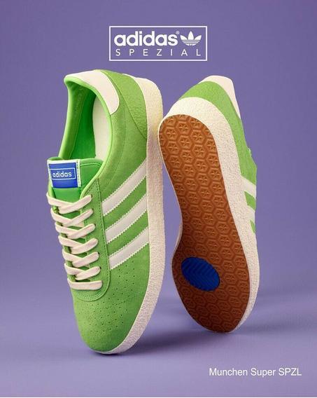 Tênis adidas Munchen Original Verde