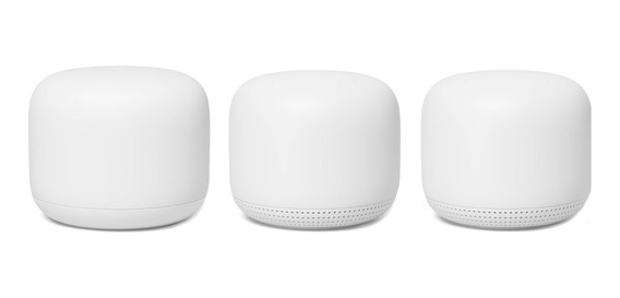 Google Nest Wifi Router And Two Points Snow _1