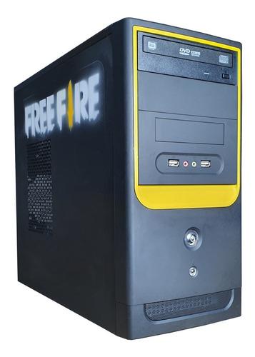 Imagem 1 de 4 de Pc Cpu Gamer Cpu I5/ 8gb/ 500gb / Dvd - Free Fire