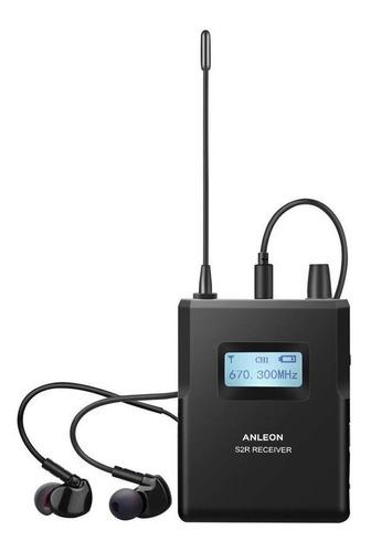 Imagen 1 de 3 de Anleon S2r Receptor Monitor Inalambrico Auricular In Cuotas