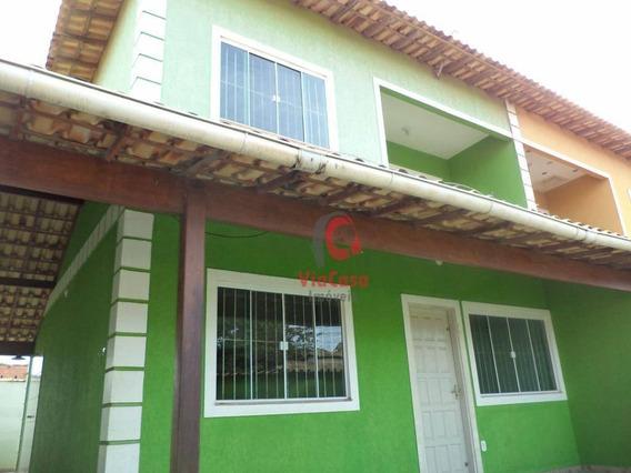 Casa Duplex De Esquina, 3 Quartos, Sendo 2 Suítes, Jardim Atlântico, Rio Das Ostras, Rj - Ca2002