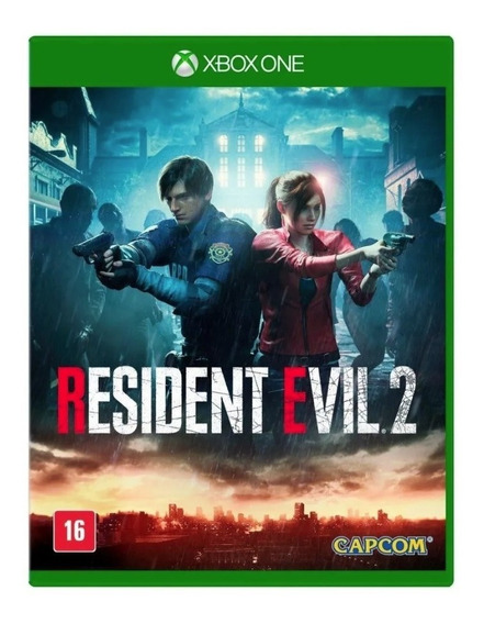 Game Xbox One Resident Evil 2 Mídia Física Original Lacrado