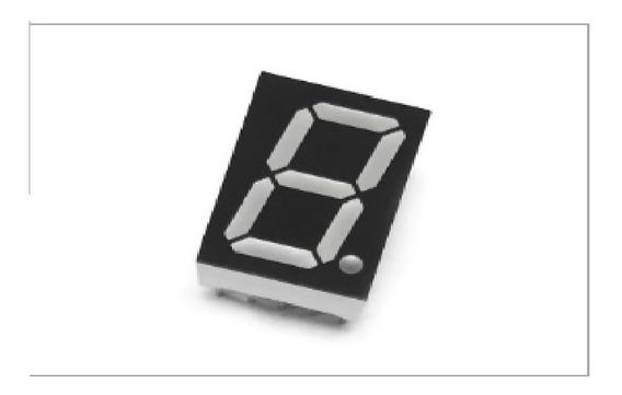 Display 7 Seg 0,52¨ Verm.-12,7 X 7,5 Mm Catodo - Emb 100 Pçs