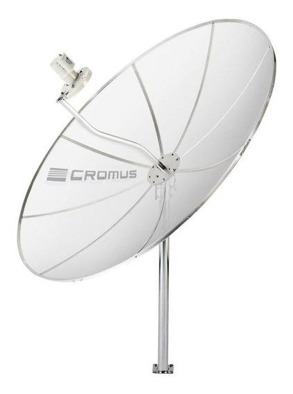 Antena Parabólica Cromus Monoponto 1,70m
