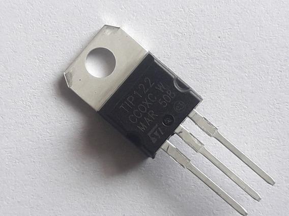 10pçs Transistor Tip122