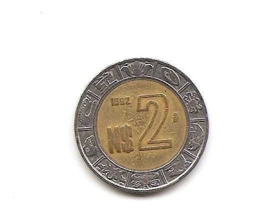 Moneda De 2 Nuevos Pesos 1992