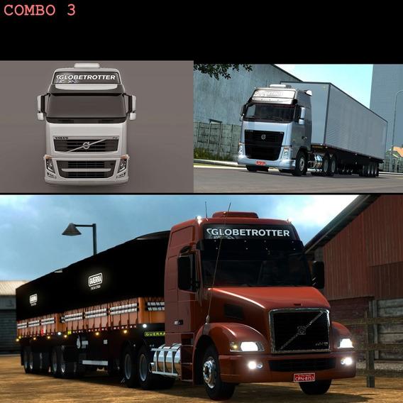 Euro Truck Simulator 2 Brasil 2018/volvo Nh + Volvo Fh