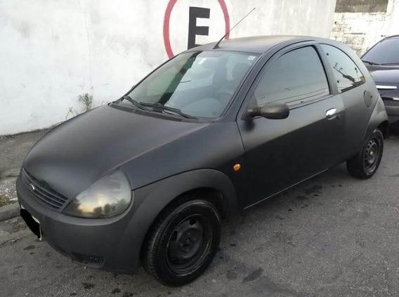 Ford Ka Zetec Rocan 1.0 Preto 2004