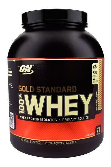 Proteina Optimum Nutrition 100% Whey Gold Standard 5 Lbs