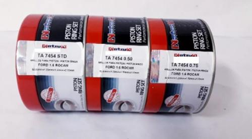 Anillos De Motor Ford Fiesta 1.6-  Std-0.20-0.30-natzuki