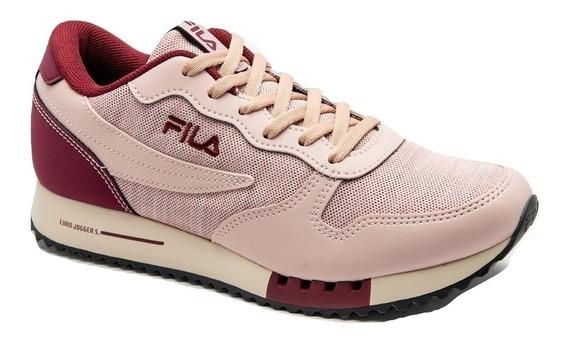 Zapatillas Fila Euro Jogger Mujer Envío+ Cuotas Sin Interés!