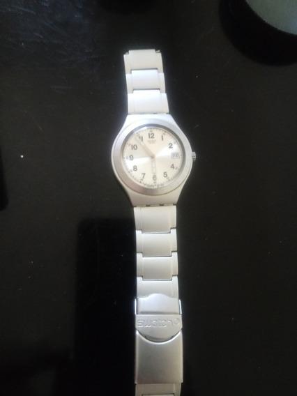 Relógio Swatch Irony Ag2002 Swiss Calendário