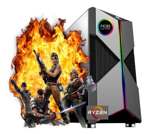 Imagem 1 de 3 de Computador Gamer Ryzen 5 8gb Ssd 240gb Pl Video Rx Vega 11