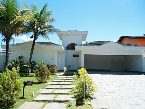Casa A Venda No Bairro Acapulco Em Guarujá - Sp.  - 395-1