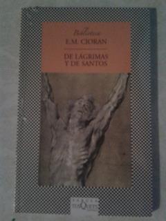 De Lagrimas Y Santos