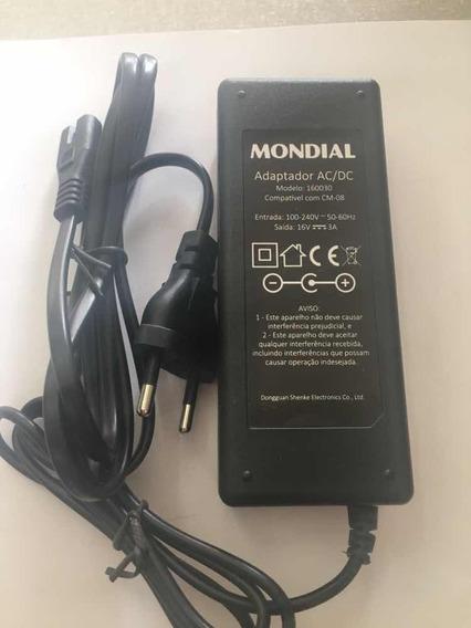 Fonte/carregador Caixa Amplificada Mondial Cm-08