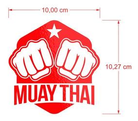 Adesivo Para Carros Muay Thai Luta Tailandesa Box