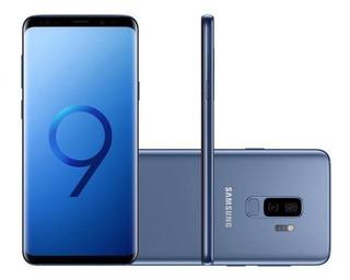 Smartphone Samsung Galaxy S9+ 128gb Azul 4g-6gb Ram Tela 6