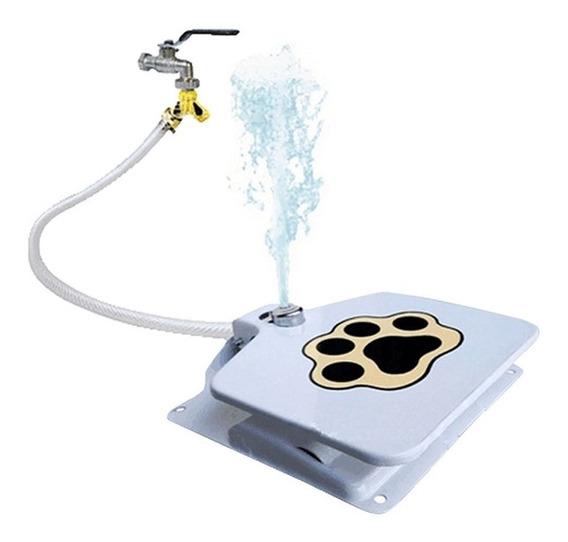 Bebedouro Pet Caes Gato Com Pedal Fonte Dispenser Automatico