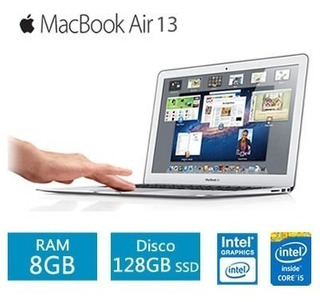 Apple Macbook Air I5 1.8/8/128ssd/13.3 /silver Nuevas En Caja Sellada Damos Factura A O B Solo Con Reserva Se Entrega