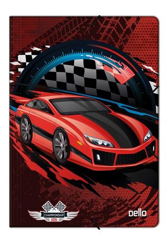 Imagen 1 de 1 de Carpeta 3 Solapas Con Elástico Autos