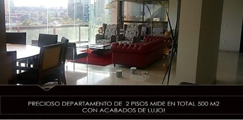 Exclusivo Departamento Campos Eliseos, Polanco A.v