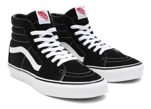 Zapatillas Vans Mod Sk8 Bota!!! Negro Blanco! 100% Original ...