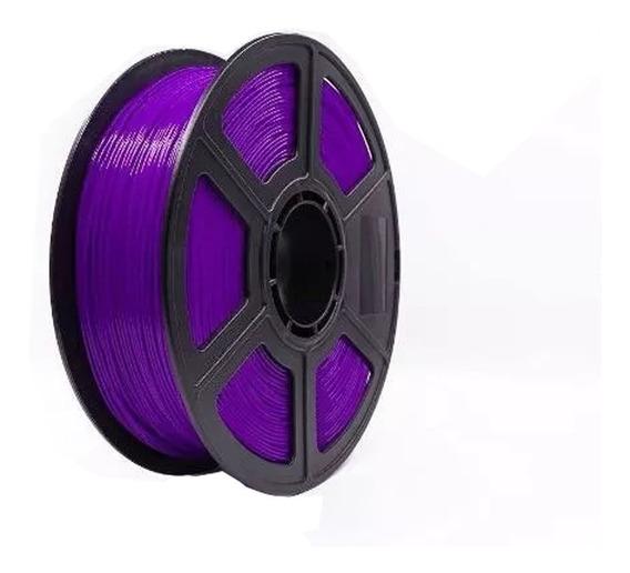 Filamento Pla 500gr 1,75mm Impressora 3d Premium Roxo