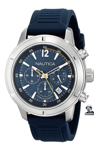 Reloj Nautica Nsr 19 N17652g En Stock Original Con Garantía