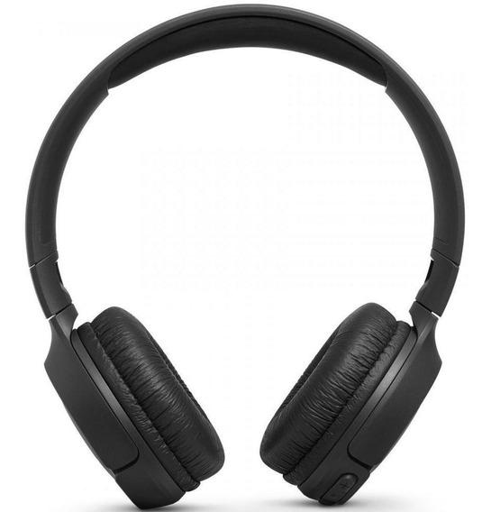 Headphone Bluetooth Jbl Com Microfone Preto - T500bt