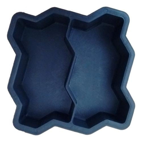 02 Formas Plástica Dupla Para Bloquete De Concreto