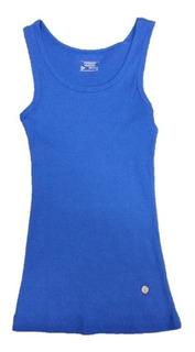Remera Musculosa Dunlop Algodon Mujer Deportiva - Olivos
